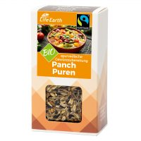 Fairtrade Bio Panch Puren Gewürzmischung von Life Earth Verpackung