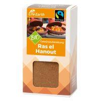 Fairtrade Bio Ras el Hanout Gewürzmischung von Life Earth Verpackung