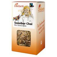 Fairtrade Bio Chai Gewürztee von Life Earth in der Schachtel