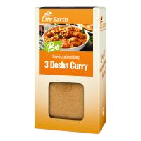 Bio 3 Dosha Curry Gewürzmischung von Life Earth Verpackung