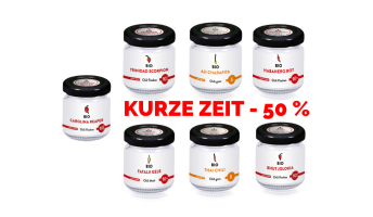 Chili Shop Aktion: -50% auf alle Chilis!